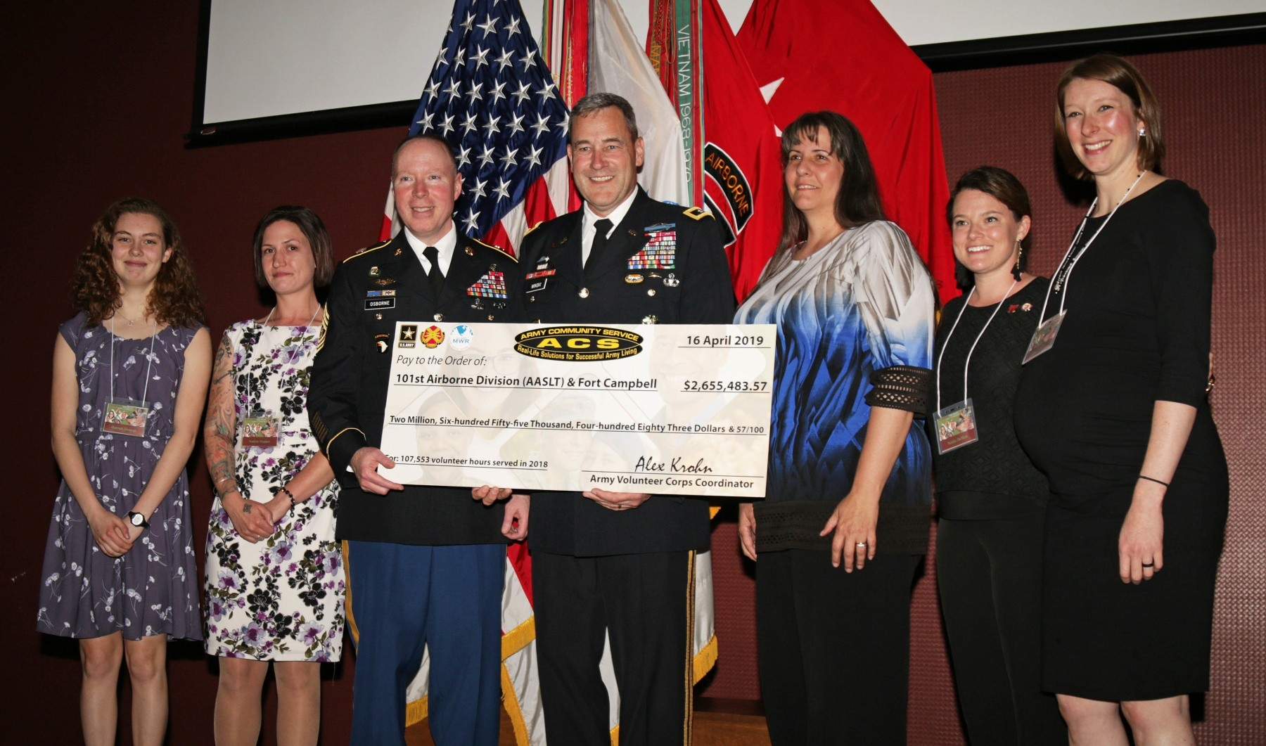 The Heart of the Army: Fort Campbell Honors Top Volunteers