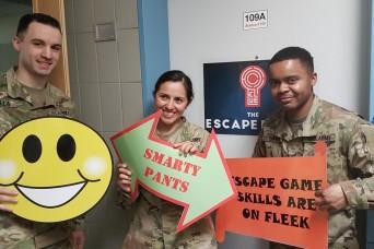 30th Medical Brigade hosts escape room challenge