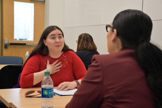 Mentors share information and advice with their mentees on topics ranging from in-depth technical knowledge to applying for a career with the federal government.