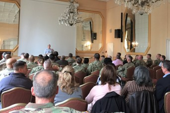 Senior military leader's share experiences in mental health
