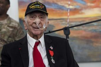 France honors Army veteran, World War II hero