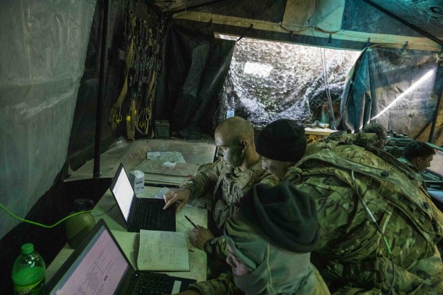 2-34 Intel team proves invaluable during Allied Spirit X