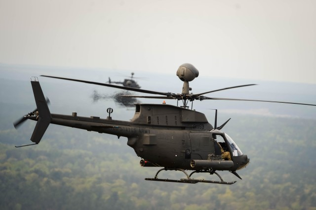 OH-58D Kiowa Final Flight