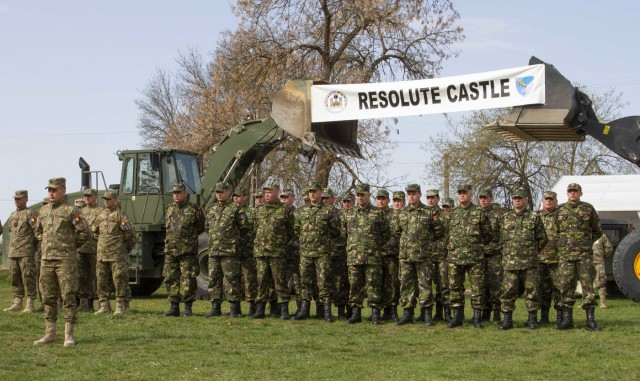 Engineers pave way for Resolute Castle 19