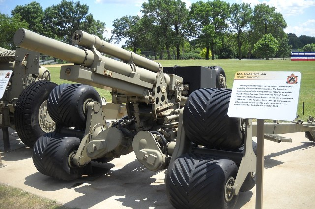 The M2A2 on display at Memorial Field is the only one known to survive, and it is believed that only two were ever manufactured.
