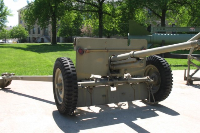 Rock Island Arsenal produced the carriage for the M3 anti-tank gun.