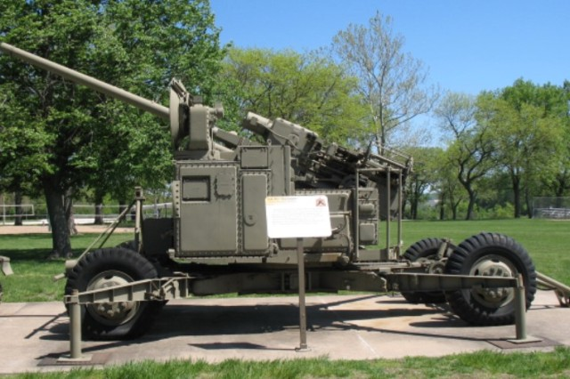 The development of anti-aircraft missiles such as the Nike rendered the Skysweeper obsolete.