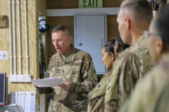 For the sustainment command, it's all about managing change