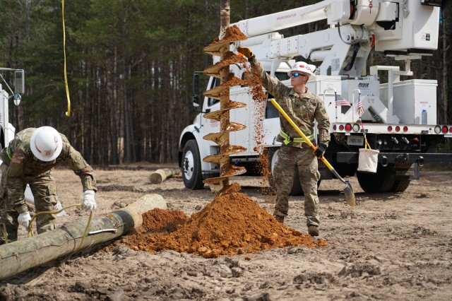 The 249th Engineer Battalion Power Distribution Specialists