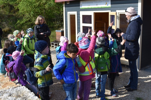 The USAG Ansbach Environmental Office hosted a project day at Soldiers Lake on Urlas April 30, 2019 in observance of the annual Earth Day.  About 170 German and American elementary school children learned about the importance of Earth's ecosystems.
