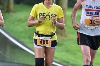 With 99 marathons under her belt, Soldier says Army discipline helped her overcome injury