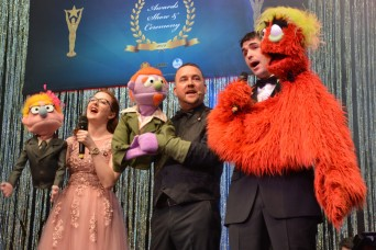 IMCOM-E awards best in theater at Toppers