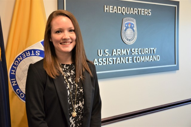 Laura Henzy, a traffic management specialist for the European Command and Africa Command in the Transportation Office, Logistics Programs Division at the USASAC New Cumberland, Pa., location, is one of two USASAC employees - only 10 Armywide - selected for the Executive Leadership Development Program.