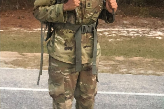 Sgt. 1st Class Janina Simmons, a drill sergeant leader with the U.S. Army Drill Sergeant Academy at Fort Jackson, recently made history by becoming the first African-American female to graduate Ranger School.