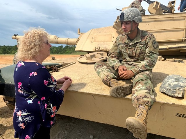 Education Influencers Engage with 316th Cavalry Brigade