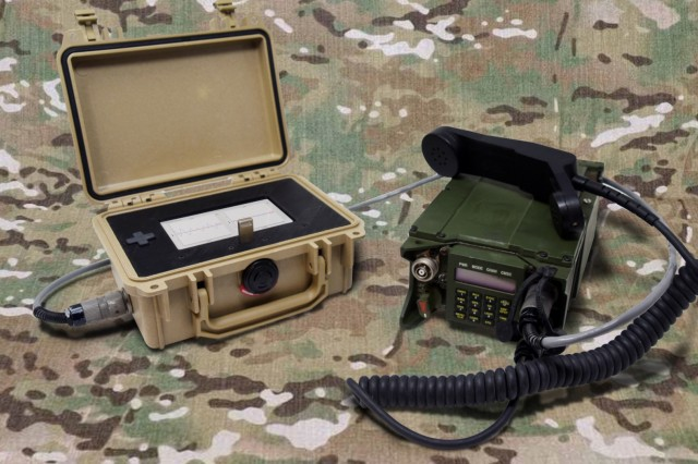 The RIC-U, is a voice bridge for tactical radios that will allow U.S. forces to seamlessly talk with allies during multi-national operations, yet still protect access to the Army's tactical network.