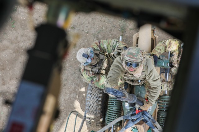 'Steel' in the sky: FA Soldiers execute air assault operations