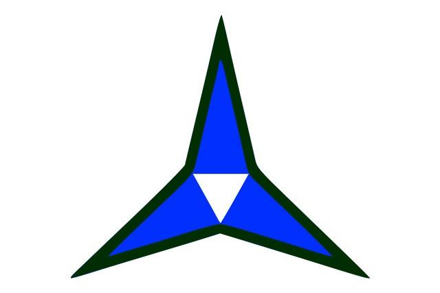 III Corps shoulder sleeve insignia.