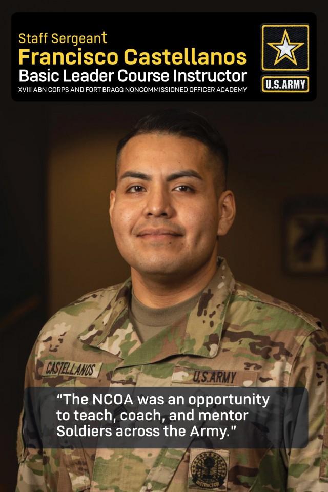 Army, Fort Bragg NCO instructor spotlight: Staff Sgt. Francisco Castellanos