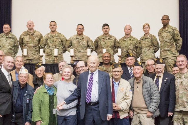The Natick Soldier Systems Center, veterans and survivors continue to come together each year for Holocaust Days of Remembrance observances, so they can never let themselves or future generations forget the lives lost and the stories of survivors.