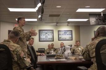 Talent Management Task Force visits Hood