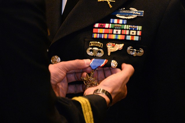 Award upgraded to Distinguished Service Cross