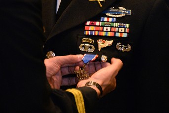 Soldier's upgrade to second highest award for valor