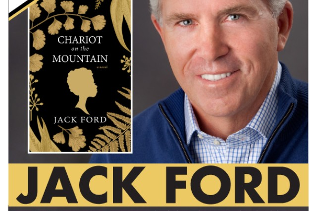 Award-winning journalist Jack Ford will visit Barr Memorial Library May 22 at noon as part of the Authors at Your Library program.