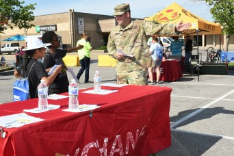 Fort Knox Bicycle Safety Day teaches kids safety, tests their knowledge