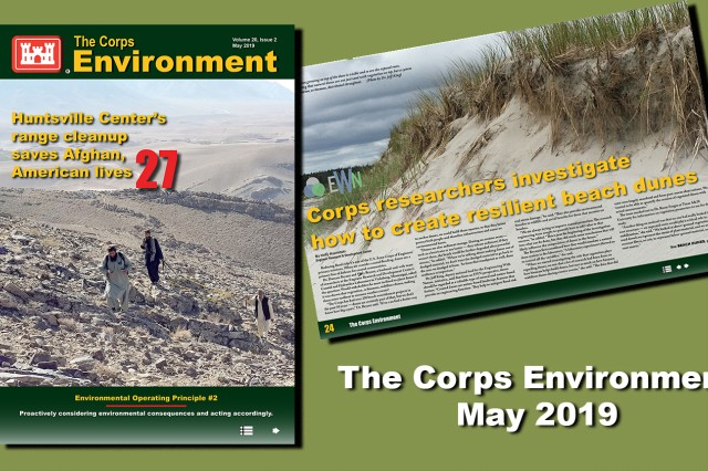 The Corps Environment is an online quarterly publication produced by the U.S. Army Corps of Engineers as an unofficial news magazine under the provisions of AR 360-1. The purpose of this publication is to provide information about USACE and U.S. Army environmental actions, issues, policies and technologies.