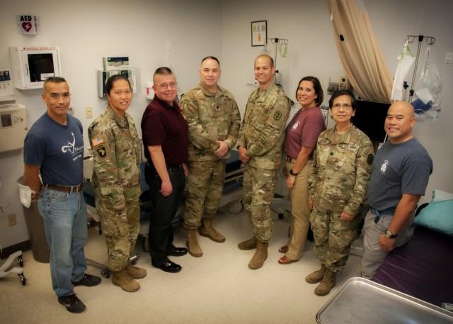 Eight Army nurses impact hospital's history, future
