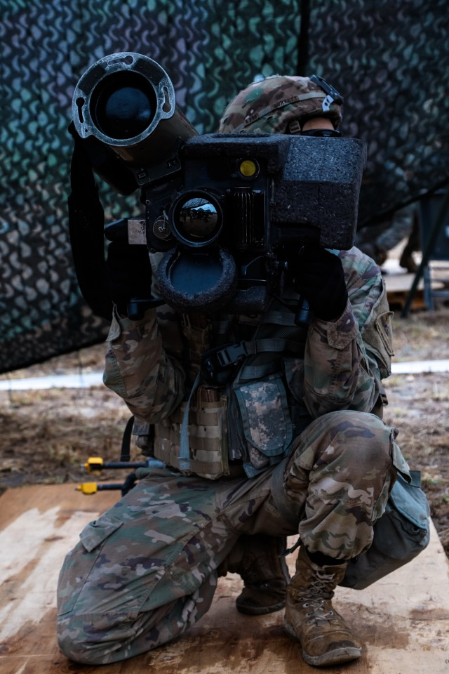 Regulars lead train-up for the Expert Infantryman Badge trials