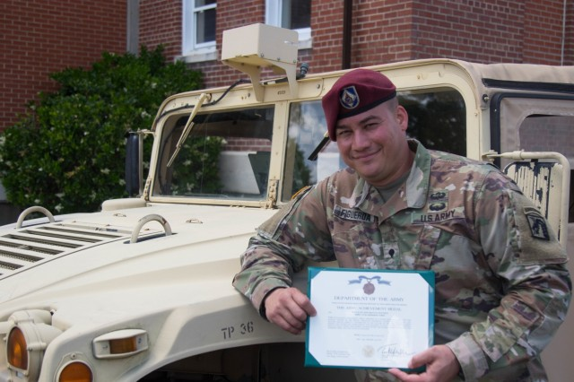 Hurricane, language barrier didn't stop Soldier from becoming a champion