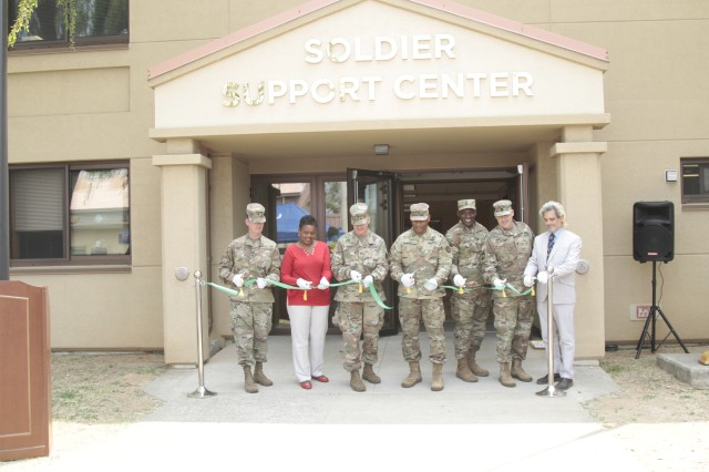 Ribbon cutting ceremony marks official opening of Soldier Support Center