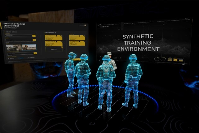 The Army's new Integrated Visual Augmentation system is a single platform that uses augmented reality where Soldiers and Marines can fight, rehearse, and train.