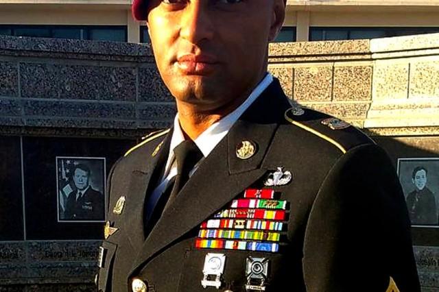 Master Sgt. Charles Duke, January 16, 2019. (Photo courtesy Master Sgt. Charles Duke)