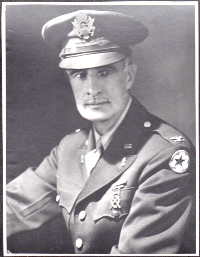 William Larned as a colonel during World War II.