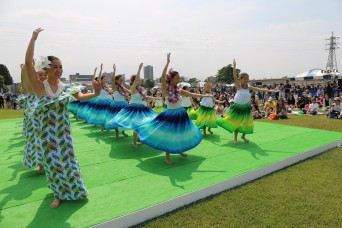 Hawaiian Festival brings hint of 'aloha' spirit to Sagami Depot