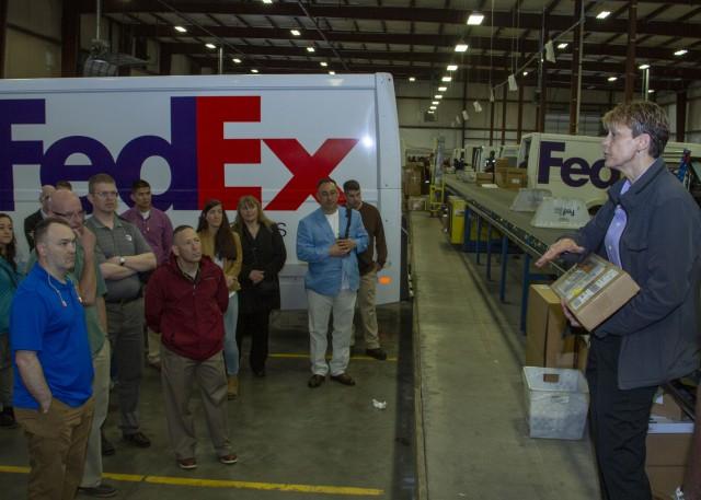 FedEx Louisville Ramp