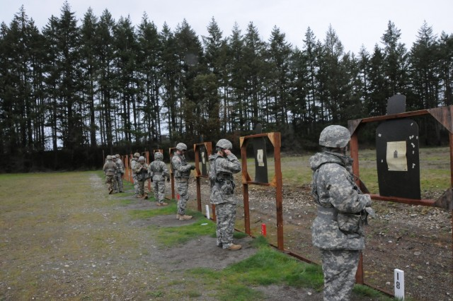 Fifteen Soldiers from Army Reserve Medical Command participated in the M4 weapon qualification portion of the competition, demonstrating their ability to protect themselves and their patients in combat environments. The Soldiers arrived on April 13th, prepared to compete in the command-level Best Warrior Competition for 2019 held April 13-17 at Joint Base Lewis McChord, Washington. The Best Warrior Competition recognizes Soldiers who demonstrate commitment to the Army values, embody the Warrior Ethos and represent the force of the future.