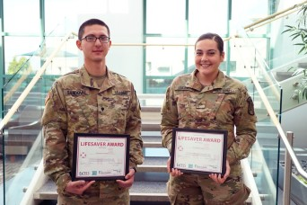 Soldiers save man's life in Cincinnati thanks to SMART program