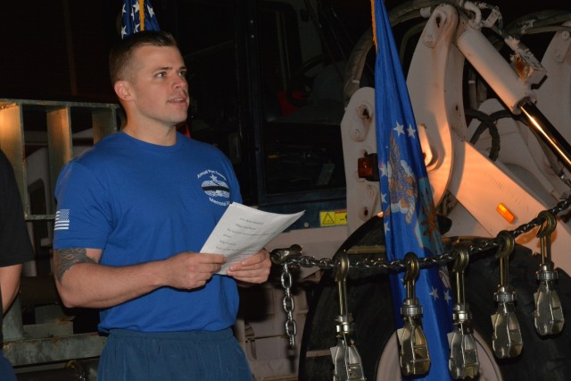 345th Training Squadron Conducts Port Dawg Run