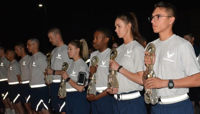 345th Training Squadron Conducts Port Dawgs Memorial Run