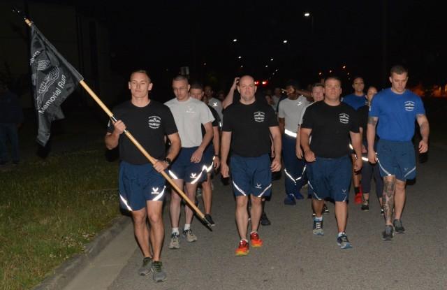 345th Training Squadron Conducts Port Dawg Memorial Run