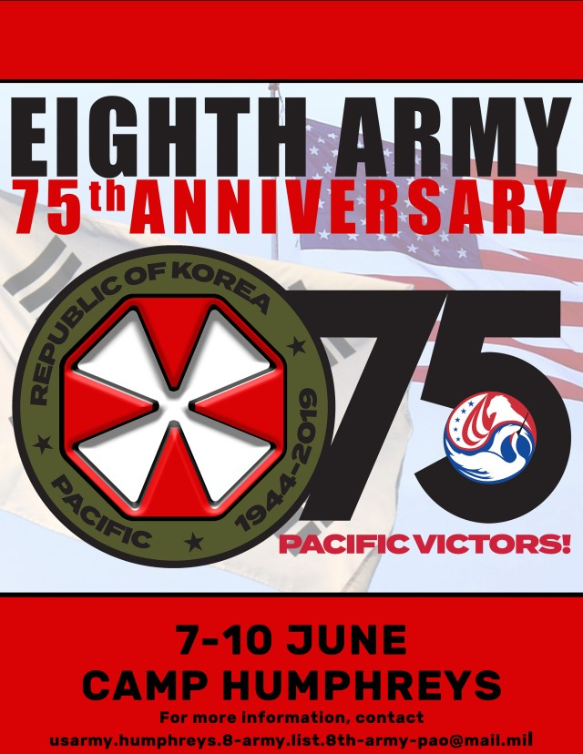 Eighth Army 75th Anniversary Timeline