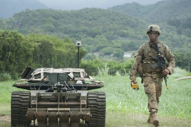 Army Futures Command is developing new mission command concepts that will enable Soldiers and robots to operate as effective teams in the future.