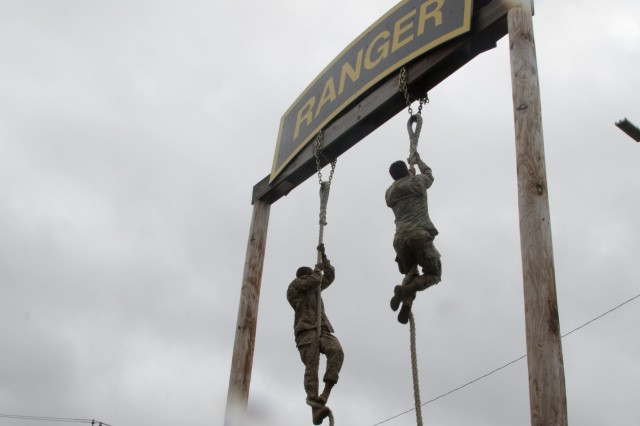 Soldiers competing in the 10th Mountain Division (LI) Best Warrior Competition at Fort Drum were tested in a series of physically demanding and mentally challenging events over the course of three days. (Photo by Pfc. Tiffany Banks)