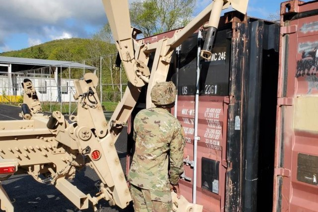 The last five months have been spent planning to move more than a thousand Soldiers and their equipment to West Point. Multiple tanks, Humvees, artillery cannons and other vehicles had to be shipped to New York for the summer.