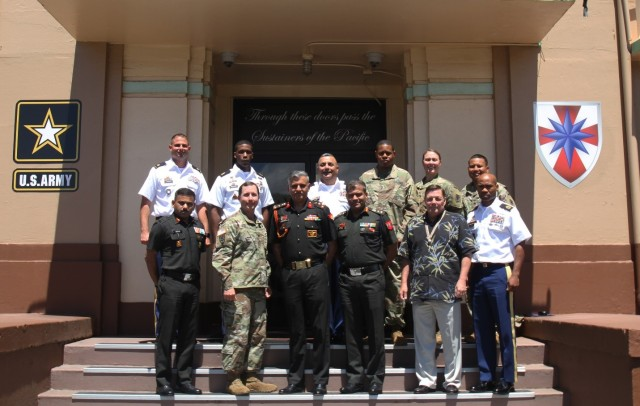 8th TSC welcomes Indian Army delegation for logistics subject matter exchange