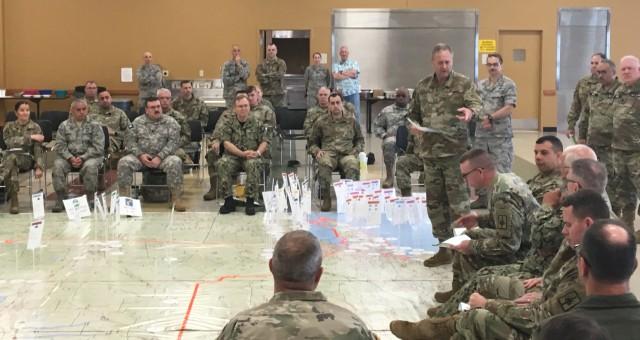 New York National Guard leaders and staff prepare for Hurricane season